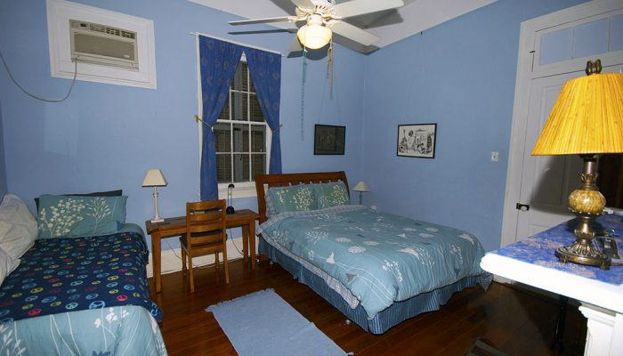 Blue Room|Queen+Single | The Burgundy, New Orleans b&b